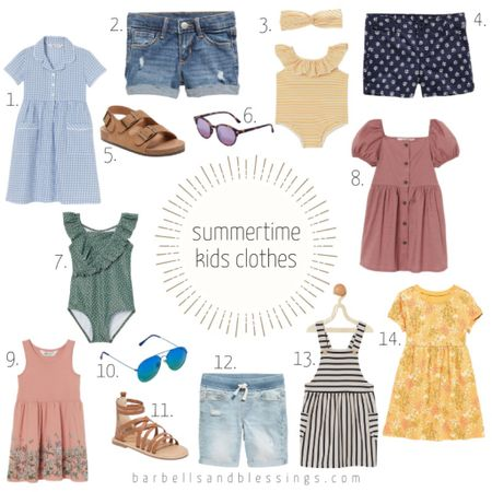 Summertime #kidsclothes