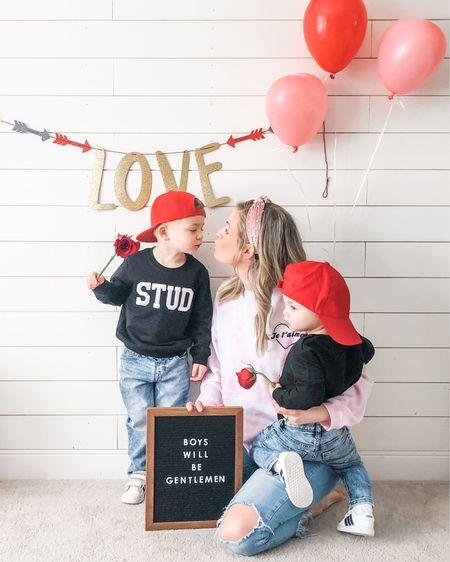 Teach 'em young! Boys will be Gentlemen❤️   http://liketk.it/38lqr #liketkit @liketoknow.it #LTKVDay #LTKkids @liketoknow.it.family #valentines #boymom #boymama #forevervalentine #boyswillbegentlemen