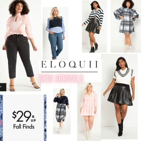 Stunning new fall arrivals from Eloquii! 😍       Wedding guest dresses, plus size fashion, home decor, nursery decor, living room, backyard entertaining, summer outfits, maternity looks, bedroom decor, bedding, business casual, resort wear, Target style, Amazon finds, walmart deals, outdoor furniture, travel, summer dresses,    Bathroom decor, kitchen decor, bachelorette party, Nordstrom anniversary sale, shein haul, fall trends, summer trends, beach vacation, target looks, gap home, teacher outfits   Mini skirts plaid dresses plaid coat plaid skirt fall   #LTKcurves #LTKworkwear #LTKstyletip