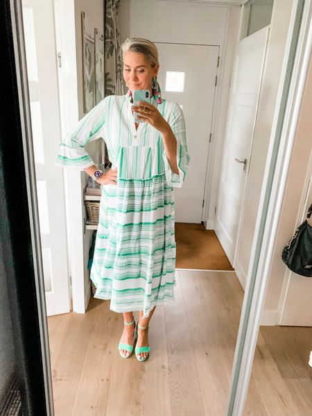 Outfits of the week-Thursday  Non stop rain on Thursday but I did not have to leave the house so I wouldn't let the weather spoil my outfit. Wearing one size and it would fit up to an xl-xxl.   #LTKeurope #LTKstyletip #LTKworkwear