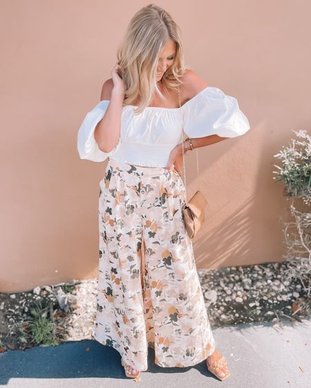 The cutest lightweight floral pants you need for your next vacation! Both my top and bottoms are from Petal and Pup but my top is currently sold out! Size down in the pants. Shop your screenshot of this pic with the LIKEtoKNOW.it shopping app http://liketk.it/3kbJN @liketoknow.it #liketkit #LTKstyletip #LTKunder100 #LTKtravel