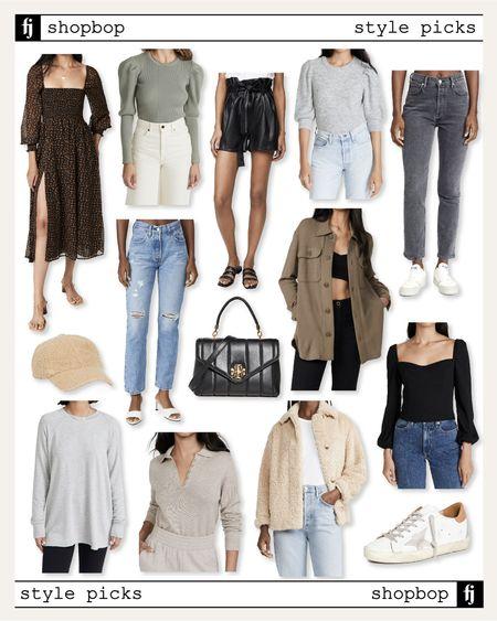 Favorite new fall arrivals from Shopbop - most under $200! #fallfashion #falloutfit #falldresses #shacket #sherpa #shearling #falldenim  #LTKshoecrush #LTKstyletip #LTKunder100