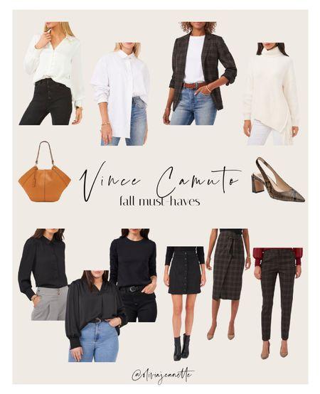 Vince Camuto favorites for fall from Dillards. #VinceCamuto   #LTKunder100 #LTKworkwear #LTKSeasonal
