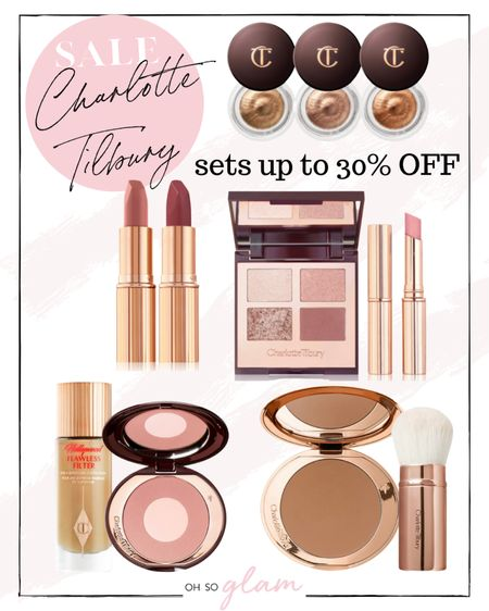 No code needed! Up to 30% off Charlotte Tilbury makeup sets! These are my top picks! I use all of these products 🙌🏼   #LTKbeauty #LTKsalealert