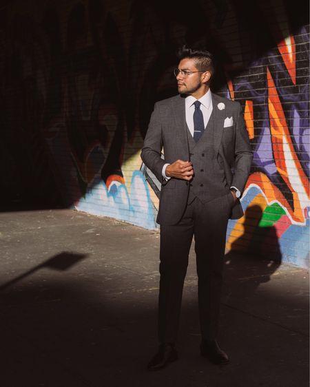 http://liketk.it/32ck7 #liketkit @liketoknow.it #LTKmens #LTKworkwear  men's accessories, men suits, suit style , menswear , style suit , business suit , black shoes , dapper men , dandy men