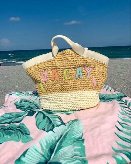 http://liketk.it/2QnDt #liketkit @liketoknow.it #LTKfamily #LTKtravel #LTKSummer #beachbag #personalized #StoneyClover #StoneyCloverLane #summer #beach