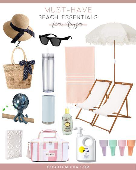 Must have beach essentials from Amazon! http://liketk.it/3gRug #liketkit @liketoknow.it #LTKswim #LTKtravel #beachessentials #beach #vacation