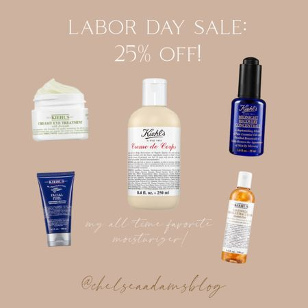 the creme is my all time FAVORITE facial moisturizer. pricey but you pay for what you get when it comes to skincare imo kiehls 25% off sale eye cream night cream Serum Toner Labor day sale face wash for men  #LTKbeauty #LTKsalealert #LTKunder50