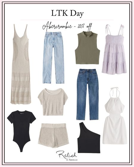 LTK Day - Abercrombie & Fitch Sale - 20% off with the #LTKDay  @liketoknow.it  app http://liketk.it/3hg66 #liketkit