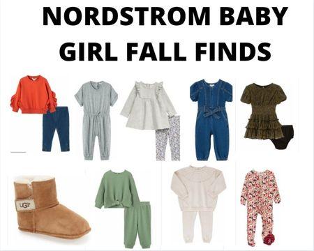 Nordstrom baby girl fall wardrobe finds.  #nordstrom #babygirl #toddlergirl    #LTKbaby #LTKfamily #LTKstyletip