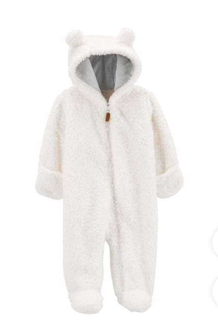 Outerwear for babies, currently loving anything that is one piece, fuzzy, cute and warm. Perfect for family fall/winter photo shoots.   #LTKbump #LTKbaby #LTKfamily