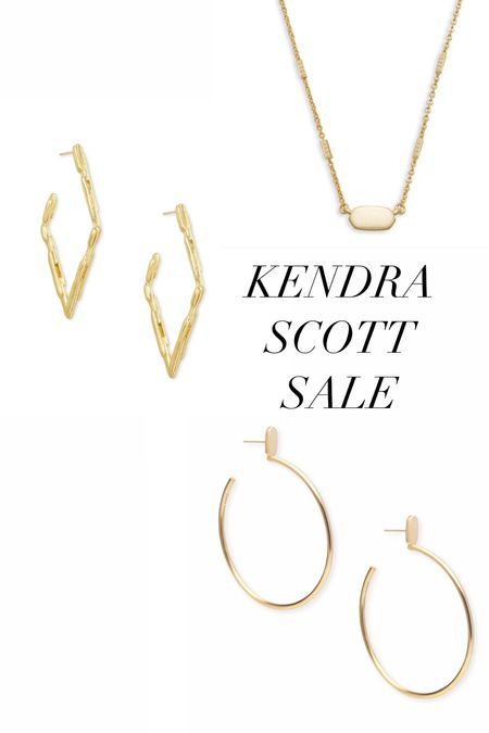 Favorite Kendra Scott earrings and necklace on sale! 20-25% off #earrings #necklace #kendrascott   #LTKunder100 #LTKsalealert