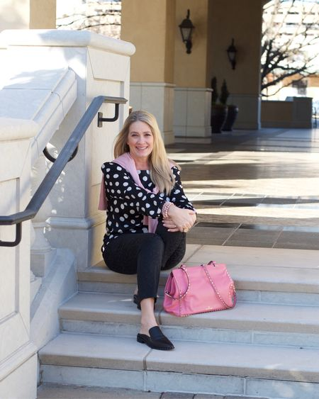 It's always a good day when there's polka dots and pink involved 💕👍🏼 sharing this look on the blog today 🌸 @liketoknow.it #liketkit http://liketk.it/2uItY