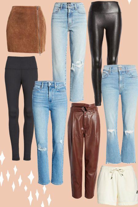 Jeans, leggings, and skirt picks from the Nordstrom Anniversary Sale! http://liketk.it/3jSZc #liketkit @liketoknow.it #LTKunder100 #LTKcurves #LTKsalealert