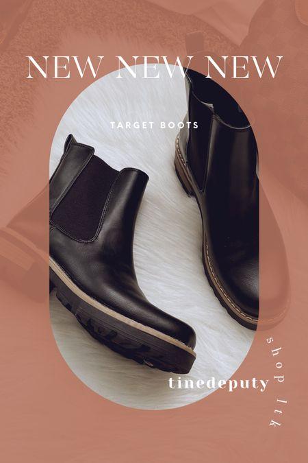 Target booties, target boots, boot inspo   #LTKSeasonal #LTKHoliday #LTKGiftGuide