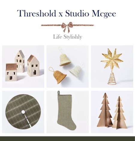 Threshold and Studio McGee Christmas arrivals.   #LTKhome