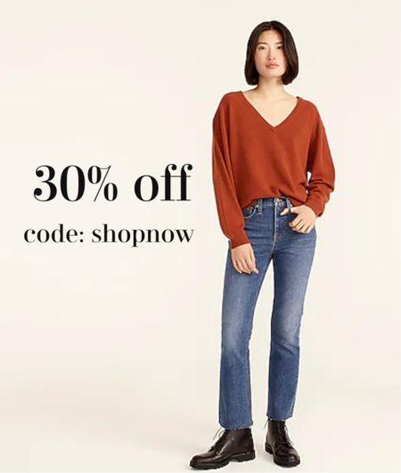 Love these flattering boot cut high rise jeans 30% off makes them under $90.   #LTKunder100 #LTKsalealert #LTKstyletip
