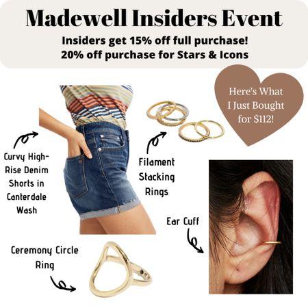 Save 15% off your full purchase during the Madewell Insiders event happening now through February 24! http://liketk.it/2KCCt #liketkit @liketoknow.it #LTKunder100 #LTKsalealert #LTKspring