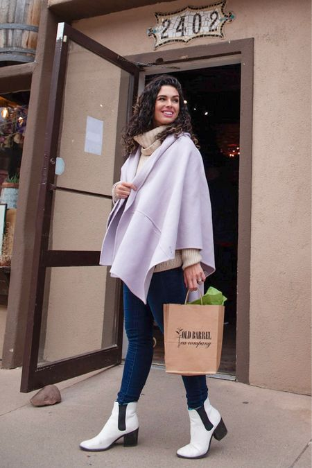 http://liketk.it/2AeYR #liketkit @liketoknow.it major sale alert on this lavender coat 75% off! White boots winter outfit winter style purple outfit purple look #LTKunder100 #LTKunder50 #LTKshoecrush #LTKstyletip #LTKsalealert