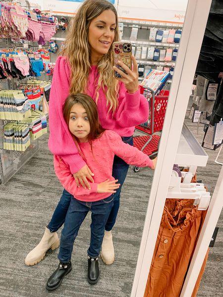 Sweater Season with my best girl! 💓✨  #LTKfamily #LTKSeasonal #LTKHoliday