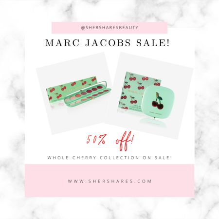 Marc Jacobs Cherry Collection on sale for 50% off!   http://liketk.it/3jSbd @liketoknow.it #liketkit #LTKsalealert #LTKbeauty @liketoknow.it.home Shop your screenshot of this pic with the LIKEtoKNOW.it shopping app