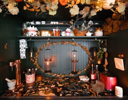 Kitchen has gotten spooky!