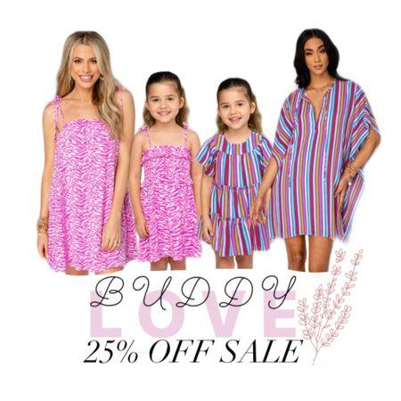 Buddy Love Sale 25% OFF! #LTKDay #LTKsalealert #LTKfamily http://liketk.it/3hjJm #liketkit @liketoknow.it cute matching mommy and me outfits!