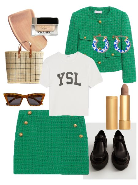 On my mind #greenjacket #greenliok #chaneljacket #mango #mangonewnow #mangonewin #mangonewcollection #boots #shoes #arket #arketbag #greenlook #falloutfit #guccibeauty #guccilipstick   #LTKunder50 #LTKbeauty #LTKunder100