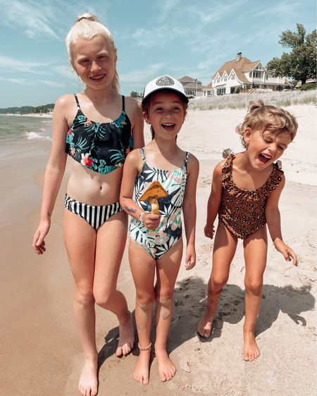 """And at noon on the 10th day of family vacation, God said these kids need some iPads 😂🙃  My dad always had this catch phrase of """"now we're having fun!"""" on family vacations. He'd wait until everyone was melting down to say it, too. I get it now. I really, really get it now😂😂  These girlies got a full night's sleep and are ready to party. It's a cloudy day, there's sand everywhere inside, we've somehow gone through an entire box of bandaids, and I'm out of Red Bull. So yeah, *now* we're having fun! 😉  http://liketk.it/3igY5 #liketkit @liketoknow.it #LTKtravel #LTKkids #LTKswim"""