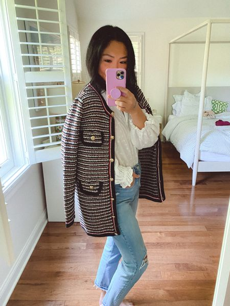 Well, helloooo dahling 😙 This cardigan is most definitely the chicest thing in my closet right now, makes me feel so fancy 😆   #LTKstyletip