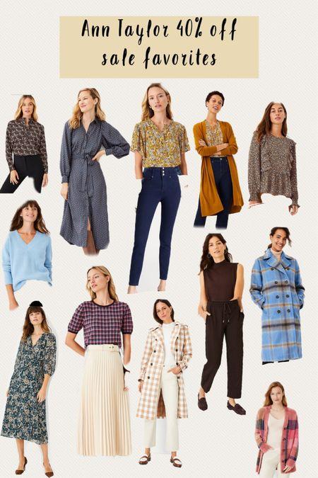 Ann Taylor fall finds , Ann Taylor sale favorites   #LTKstyletip #LTKworkwear #LTKsalealert