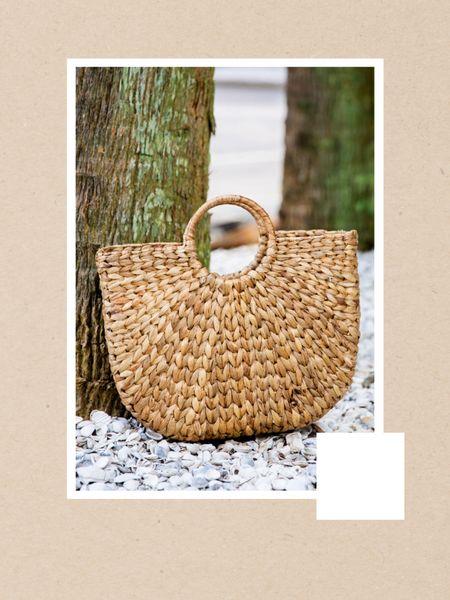 Beach bag, straw bag, cute purse for summer http://liketk.it/3jKrE #liketkit @liketoknow.it #LTKunder50 #LTKtravel #LTKitbag