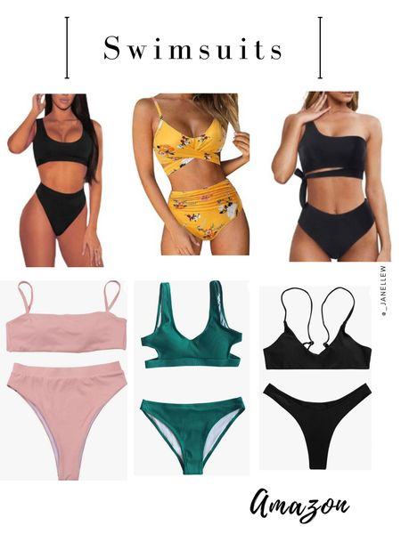 Best Swimsuits from Amazon   You can instantly shop all of my looks by following me on the LIKEtoKNOW.it shopping app.  @liketoknow.it http://liketk.it/3hixA   #LTKstyletip #LTKswim #LTKunder50 #liketkit