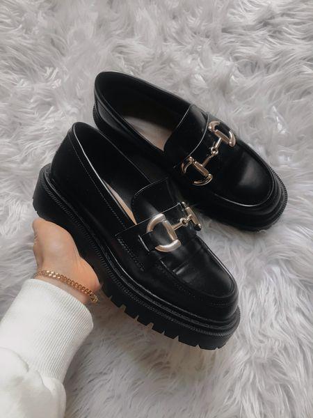 Chuncky black loafers 🤎 #loafers #chuncky #blackshoes  #LTKshoecrush #LTKstyletip #LTKSeasonal