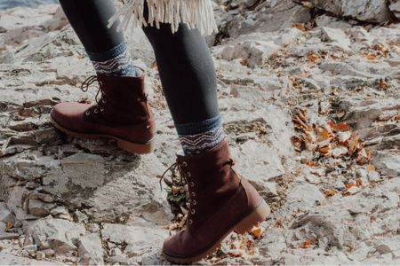 The best hiking boots for outdoor festivities and wool socks to pair with!    #LTKgiftspo #LTKshoecrush #LTKfit