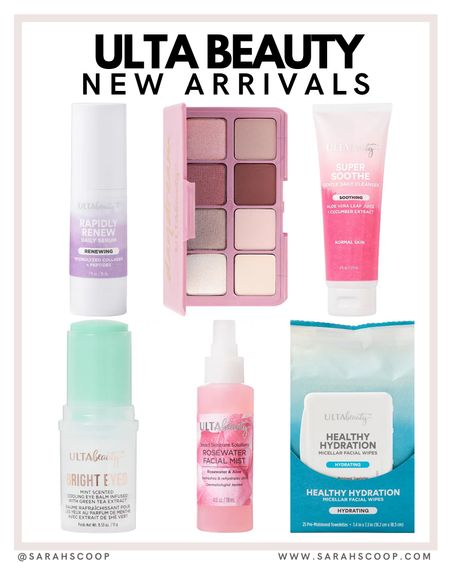 Check out these beauty finds! ✨  ulta beauty | skincare | trends | trending | beauty | eyeshadow | affordable | low price | pink | facial | spray | scented  @sarahscoop www.sarahscoop.com    #LTKbeauty #LTKunder100 #LTKunder50