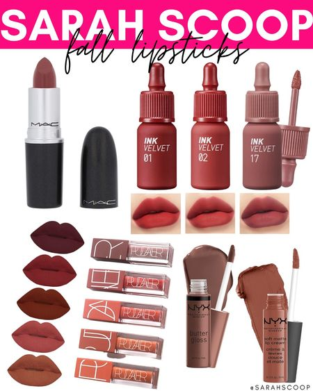 Fall colors are soo gorgeous, why not wear them on your lips? 💋 . . . . #fall #makeup #beauty #beautiful #lipstick #amazon #deal #sale   #LTKGiftGuide #LTKunder50 #LTKbeauty