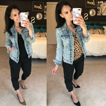 The Zyia joggers will work for a girls night out or date night outfit too! The gold zipper makes them so versatile! Also if you don't have a lace trimmed cami yet for the summer season, snag one now!   http://liketk.it/2OMPc #liketkit @liketoknow.it #LTKfit #LTKshoecrush #LTKstyletip Shop my daily looks by following me on the LIKEtoKNOW.it shopping app