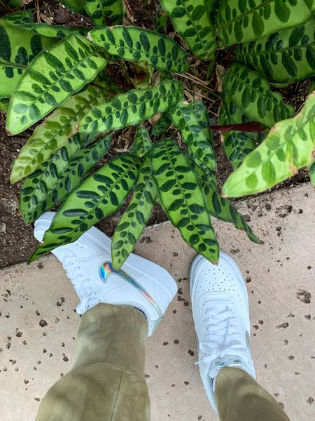 Enjoying nature with my new Nike low top shoes. @nike #Nike #TennisShoes #Nature #Flowers #Vacation #Travel   #LTKtravel #LTKfamily #LTKshoecrush