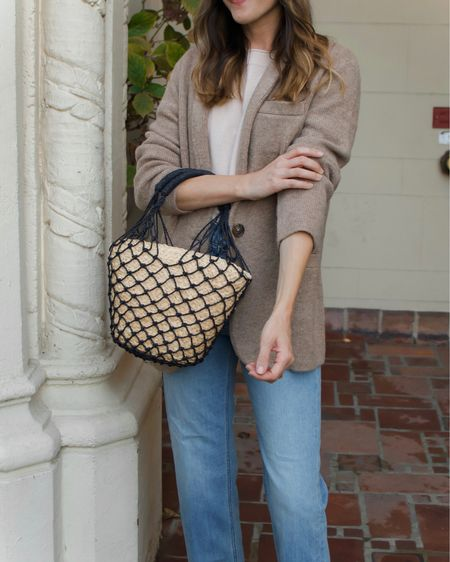 Fall style ready in the comfiest blazer. Sweater-soft and easy to dress up or down. I took my usual J.Crew size, which is a size down from my usual size. It runs big!   #LTKSeasonal #LTKstyletip #LTKworkwear