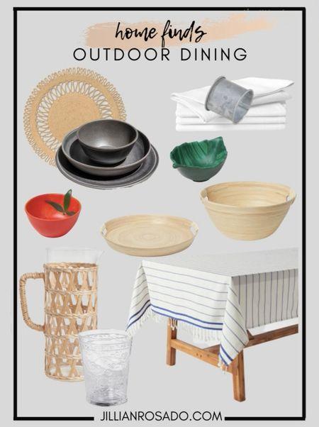Home Decor   Outdoor Dinnerware  #LTKunder50 #LTKSeasonal #LTKhome
