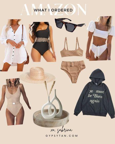 Amazon fashion, one piece swimsuit, beach, summer outfit, home decor  http://liketk.it/3hTcw #liketkit @liketoknow.it #LTKswim #LTKstyletip #LTKhome #amazonfashion #amazonswimsuit #bikini #onepiece #swimsuit