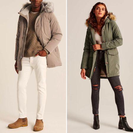 AF sale on outerwear - extra 15% off ends today    #LTKmens #LTKfamily #LTKsalealert