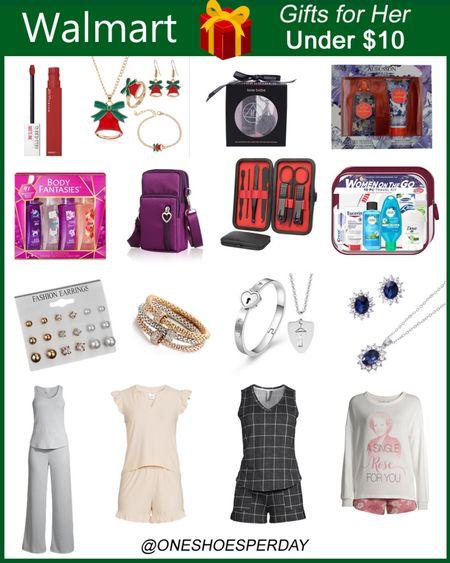 Walmart Finds  Gifts for her under $10           http://liketk.it/3q0j9 @liketoknow.it #liketkit #LTKGiftGuide #LTKSeasonal #LTKsalealert #LTKstyletip #LTKunder50 #LTKbeauty #LTKworkwear #LTKtravel Christmas Gifts | Jewerly | Pajamas | Gift Guide | Gift Ideas | Gifts for Teachers | Gifts for Mother-in-Law | Gifts Set | Lipstick | Holiday Gift Set |