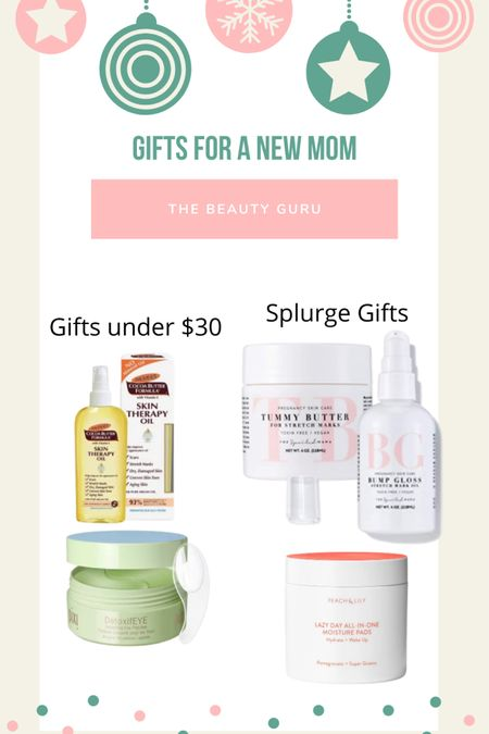 Holiday gift guide for the beauty guru new or expecting mama! These items make self care easy while still feeling luxurious!  http://liketk.it/315zZ #liketkit @liketoknow.it #LTKgiftspo #LTKbeauty #LTKunder50
