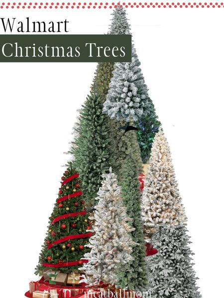 Christmas trees from Walmart               Walmart finds, Christmas, Christmas trees  #ltkholidaystyle   #StayHomeWithLTK #LTKhome #LTKunder50 http://liketk.it/2Zq3A #liketkit @liketoknow.it