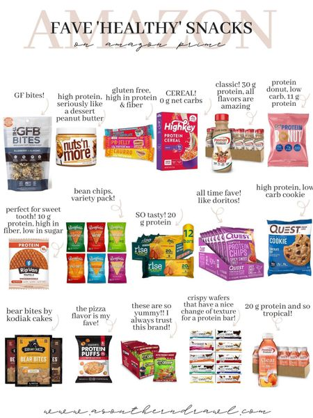Healthy snack finds from Amazon fashion   #LTKunder50 #LTKfit
