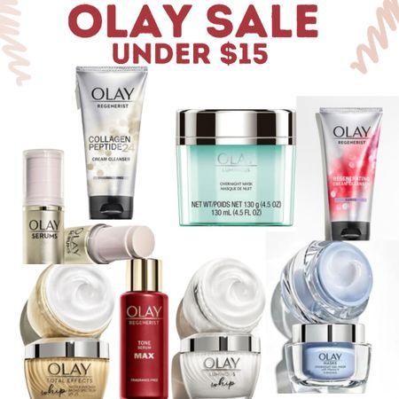 Olay Clearance Beauty Event. Skin care under $15! 70% off!  #LTKbeauty #LTKunder50 #LTKsalealert