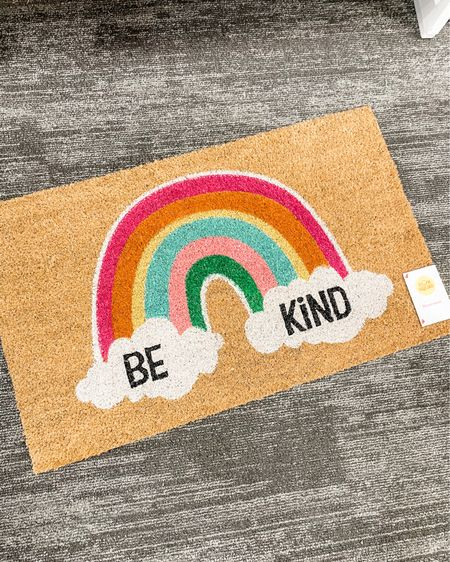 """""""Be Kind"""" doormat is perfect for a classroom or home! http://liketk.it/3eJnJ #liketkit @liketoknow.it #LTKfamily #LTKkids #LTKhome"""