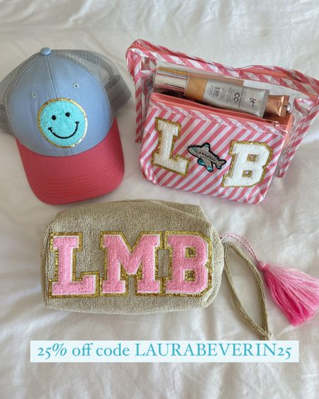 Custom monogram bag on sale 25% off today code LAURABEVERLIN25  #laurabeverlin  #LTKsalealert #LTKbeauty #LTKunder50